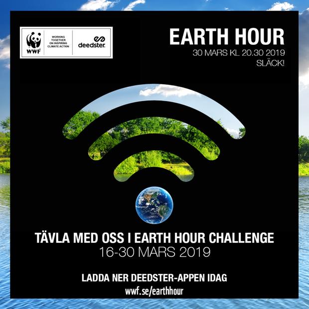 Delta i Earth Hour Challenge 437b64f0d9f10